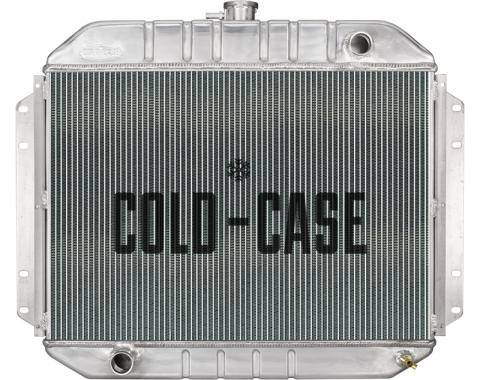 Cold Case Radiators 61-64 Ford F-100 Truck Coyote Swap Aluminum Performance Radiator FOT577-5