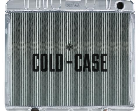 Cold Case Radiators 66-67 Fairlane BB MT Aluminum Performance Radiator FOF585