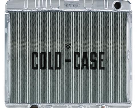 Cold Case Radiators 66-67 Fairlane BB AT Aluminum Performance Radiator FOF585A