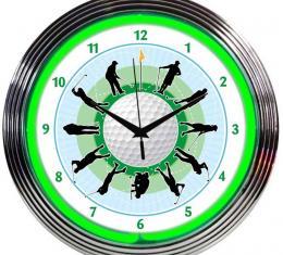 Neonetics Neon Clocks, Golf Neon Clock