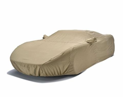 Tan Flannel Indoor Custom Fit Vehicle Cover