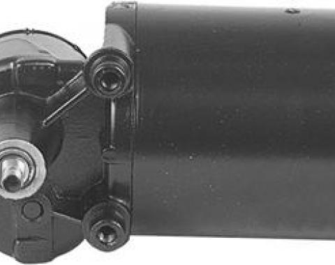 Windshield Wiper Motor, Remanufactured, for Cars with Single Speed Wipers