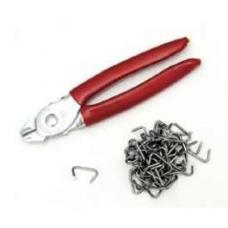 Professional Seat Cover Installation Kit, with Hog Rings and Pliers