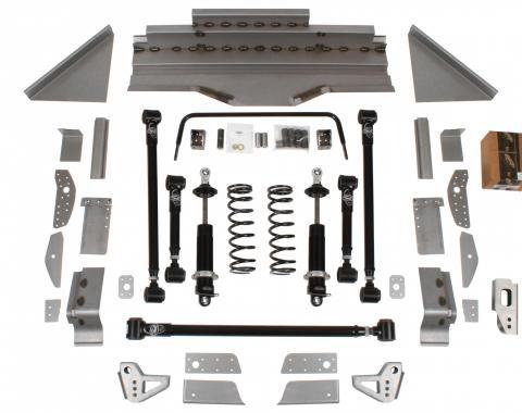 Detroit Speed QUADRALink Suspension Kit w/o Axle Brackets 1964.5-70 Mustang Base Shocks 041733