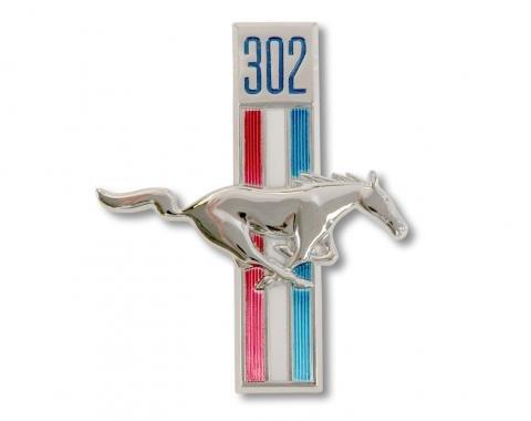 Scott Drake 1968 302 Running Horse Fender Emblem (RH) C8ZZ-16228-A