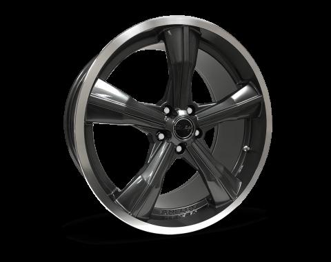 Carroll Shelby Wheels 2015-2020 Ford Mustang CS11 20x11, Gunmetal CS11-211555-G
