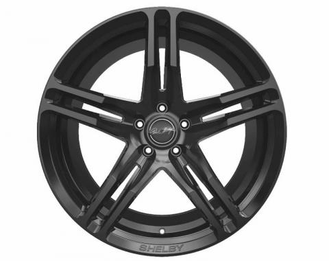 Carroll Shelby Wheels 2015-2020 Ford Mustang CS14 20x11, Gloss Black CS14-215455-B