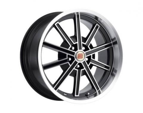 Carroll Shelby Wheels 2005-2014 Ford Mustang CS67 20x9, Black CS67-295430-B