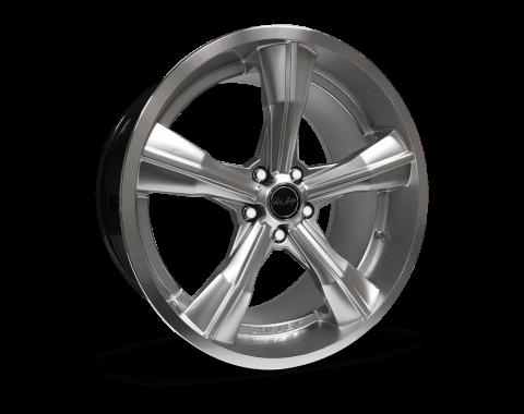 Carroll Shelby Wheels 2015-2020 Ford Mustang CS11 20x9.5, Chrome Powder CS11-295530-CP