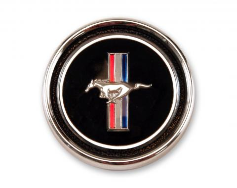 Scott Drake 1967-1968 Ford Mustang 67-68 Deluxe Dash Panel Emblem & Base C7ZZ-65044A90EP