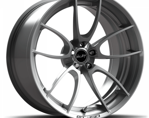 Carroll Shelby Wheels 2015-2020 Ford Mustang CS21 19x10.5, Brushed Clear CS21-905430-R