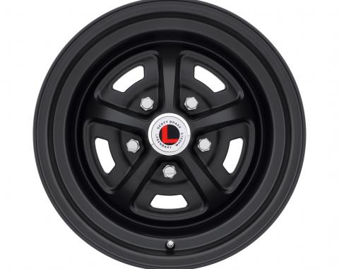 Legendary Wheels 1964-1973 Ford Mustang 17x7 Magnum 500 Alloy Wheel, 5 on 4.5 BP, 4.25 BS, Stealth Black LW50-70754E