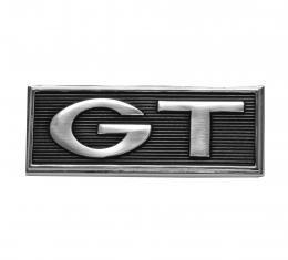 "Scott Drake 1968 Ford Mustang Fender ""GT"" Emblems (GT ) C7GY-16098-B"