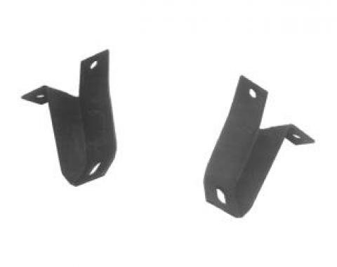 Scott Drake 1964-1966 Ford Mustang Rear Bumper Guard Brackets C5ZZ-17B876/7-A