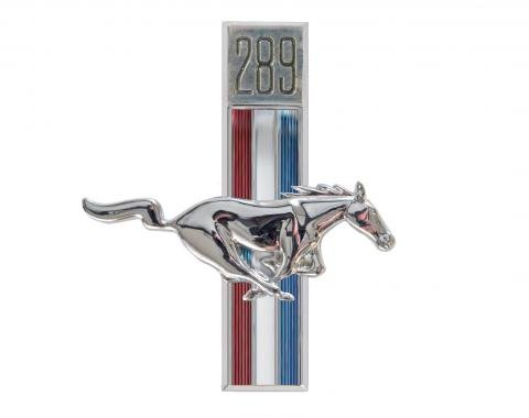 Scott Drake 1967-1968 Ford Mustang 67-68 289 Running Horse Fender Emblems (RH) C7ZZ-16228-C