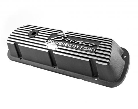 Scott Drake Bronco Aluminum Valve Covers (Pair) 6A582-B