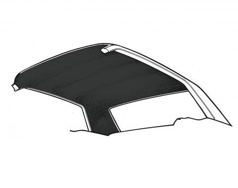Scott Drake 1965-1970 Ford Mustang 65-70 Coupe Headliner (Black) HL-FM-CP-65-BK
