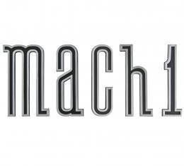 Scott Drake 1970 Mach 1 Rocker Emblem Set D0ZZ-16003-K