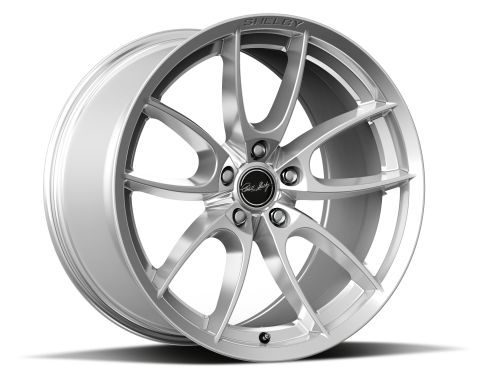 Carroll Shelby Wheels 2015-2020 Ford Mustang CS5 19x9.5, Chrome Powder CS5-995534-CP