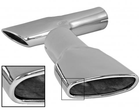 Scott Drake 1970 Ford Mustang Concours Exhaust Tips (Pair) D0ZZ-5255-A