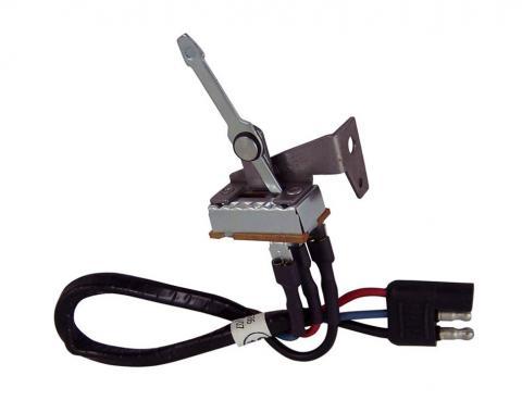 Scott Drake 1967 Mustang Heater Switch Assembly C7ZZ-19986