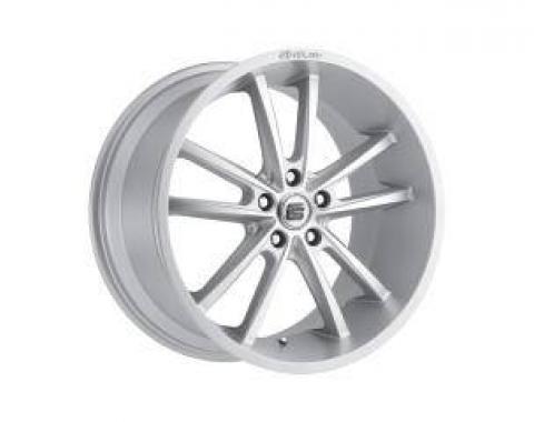Carroll Shelby Wheels 2005-2020 Ford Mustang CS2 20x9, Silver CS2-295430-S