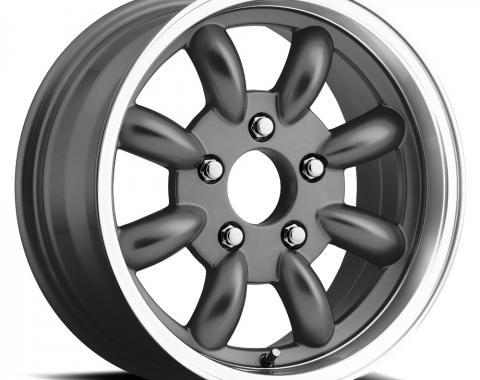 "Legendary Wheels 1964-1973 Ford Mustang LW 80 15x7 ""t/a"" Alloy Rim,Charcoal LW80-50754B"