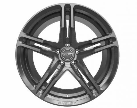Carroll Shelby Wheels 2015-2020 Ford Mustang CS14 20x11, Gunmetal CS14-215455-G