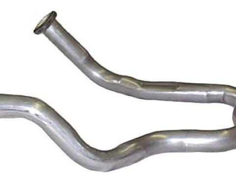 """Scott Drake 1970 Mustang Exhaust Pipe (351C-4V exhaust H pipe 2.25"""", Will not fit 2V) D0ZZ-5246-A"""