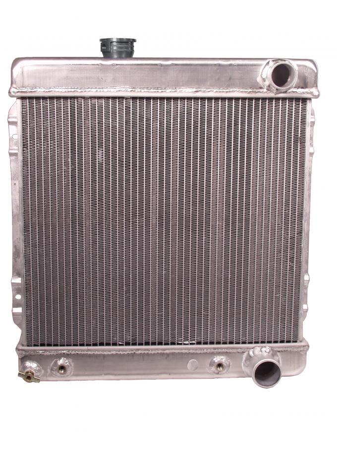 Scott Drake 1964-1966 Ford Mustang 2 Core Hi-Po Aluminum Radiator (260, 289) 259-2AL