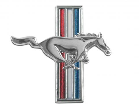 Scott Drake 1964-1966 Ford Mustang Running Horse Fender Emblem (64-66 All & 67-68 6 Cyl, RH) C5ZZ-16228-D
