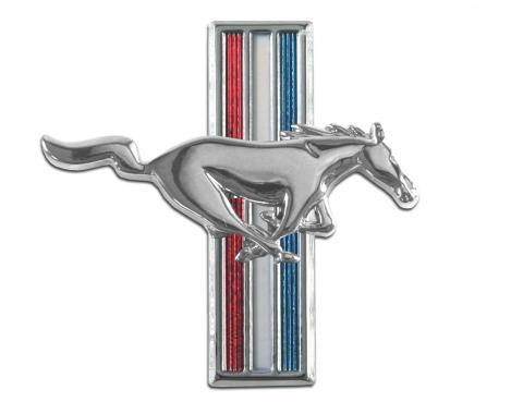 Scott Drake 1964-1966 Ford Mustang Running Horse Fender Emblem (64-66 All & 67-68 6 Cyl, RH) C5ZZ-16228-D