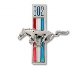 Scott Drake 1968 302 Running Horse Fender Emblems (LH) C8ZZ-16229-A