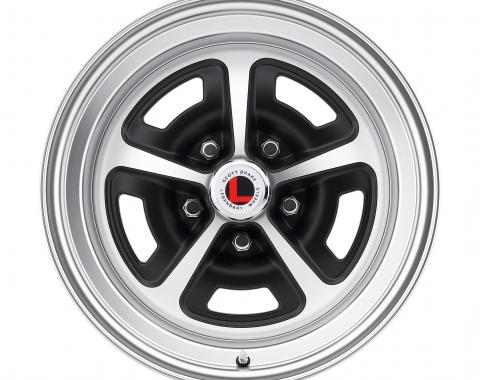 Legendary Wheels 15 x 7 Magnum Alloy Wheel, 5 on 4.5 BP, 4.25 BS, Satin Black / Satin LW50-50754D