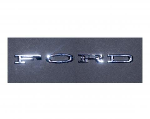 Scott Drake 1964-66 FORD Hood Letters (Stick-On) C4OZ-6240282-SK