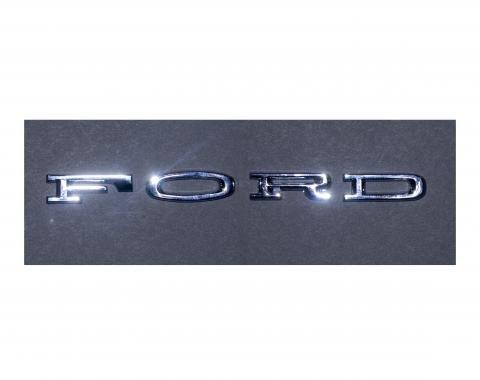 Scott Drake 1964-66 FORD Hood Letters (Stick-On) C4OZ-6240282-SK