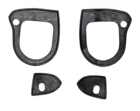 Scott Drake 1964-1966 Ford Mustang Outside Door Handle Pads C0DZ-6422428/9K