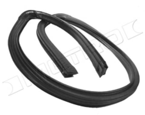 Mustang Convertible Header Seal Weatherstrip, 1985-1993