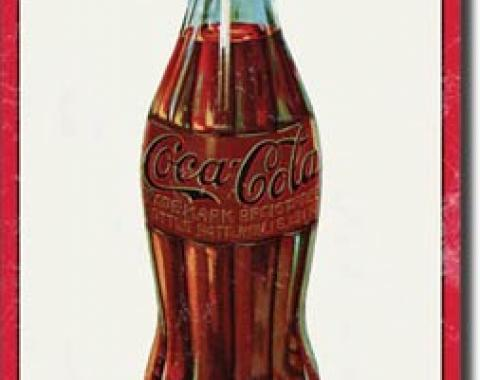 Tin Sign, COKE - 1915 Bottle