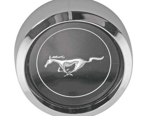 Ford Mustang Wheel Center Caps - 5/8 Deep - Fits 2 Center Hole