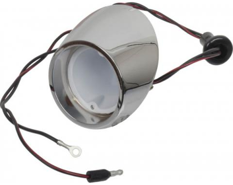 Ford Mustang Back Up Light Body & Socket - Right - Reproduction