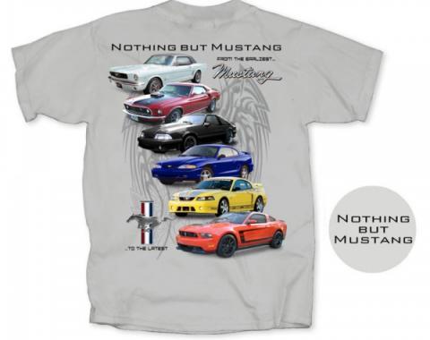 Nothing But Mustang T-Shirt, Gray