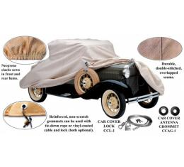 Car Cover, Poly-Cotton, Station Wagon, 1928-1931