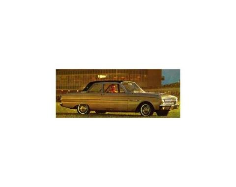 Falcon Vinyl Top, 4 Door Sedan, Black Or White, Comet, 1962-1965