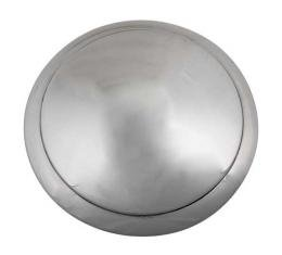 Hub Cap - Smooth 1 Ring Stainless Steel - 5-3/4 - Ford Passenger