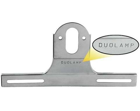 Ford Pickup Truck Rear License Plate Bracket - Stainless Steel
