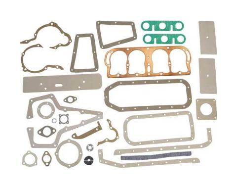Model T Ford Motor & Transmission Gasket Set - Complete - 31Pieces - Includes Copper Head Gasket
