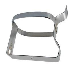 Ford Pickup Truck Windshield Washer Jar Bracket - Chrome Plated