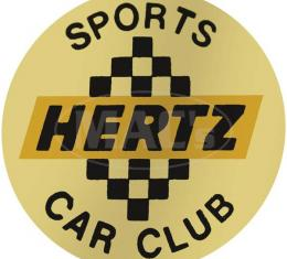 Ford Mustang Decal - Hertz Wheel Center - Shelby