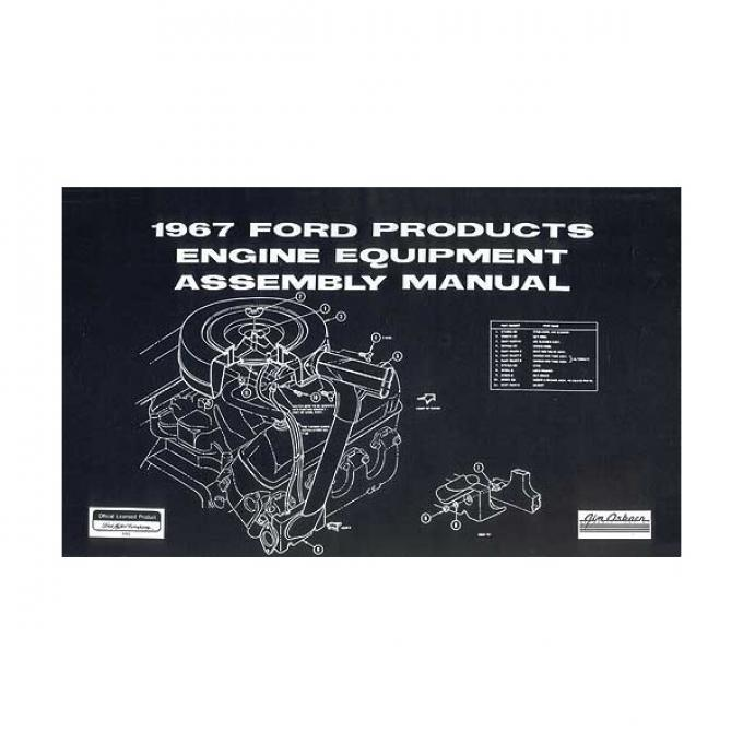 Ford Products Engine Equipment Assembly Manual - 253 Pages